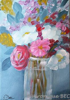 Acrylique sur toile 19x24 cm
